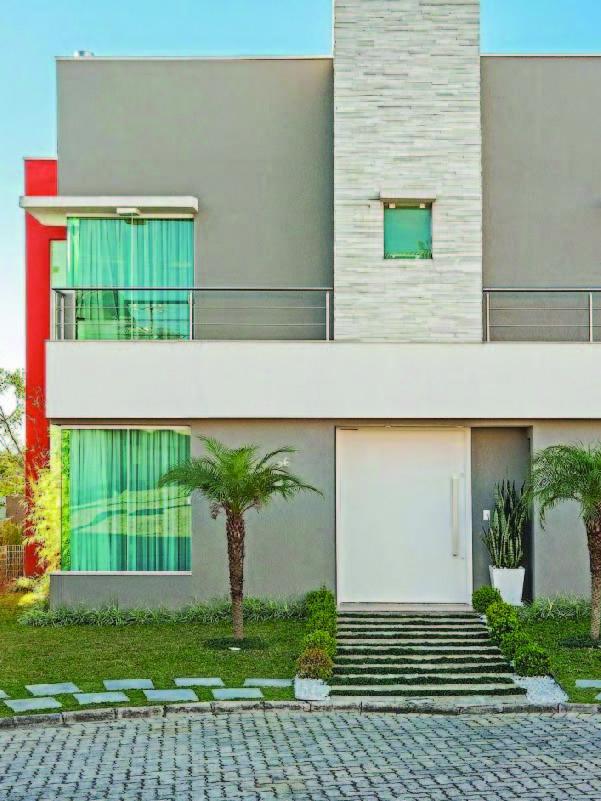 Aplicação de texturas em fachada 2
